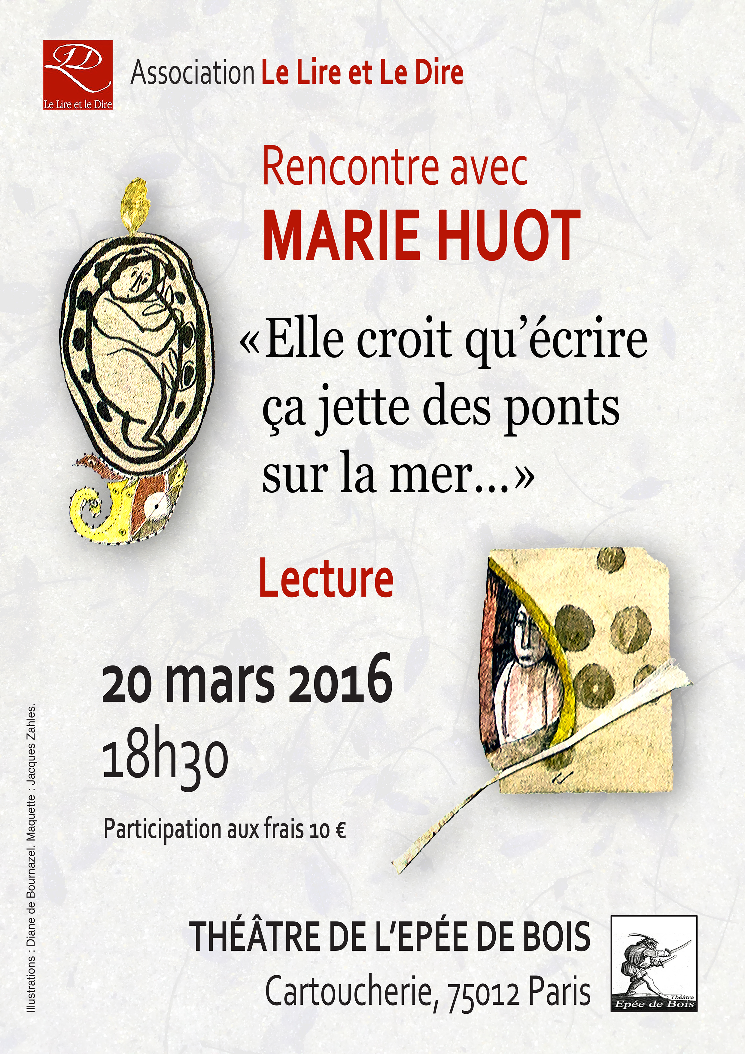 Marie Flyer A4